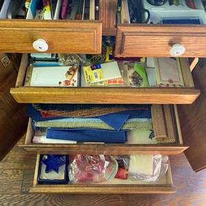 Lot # 711 - Goods From 5 Kitchen Drawers