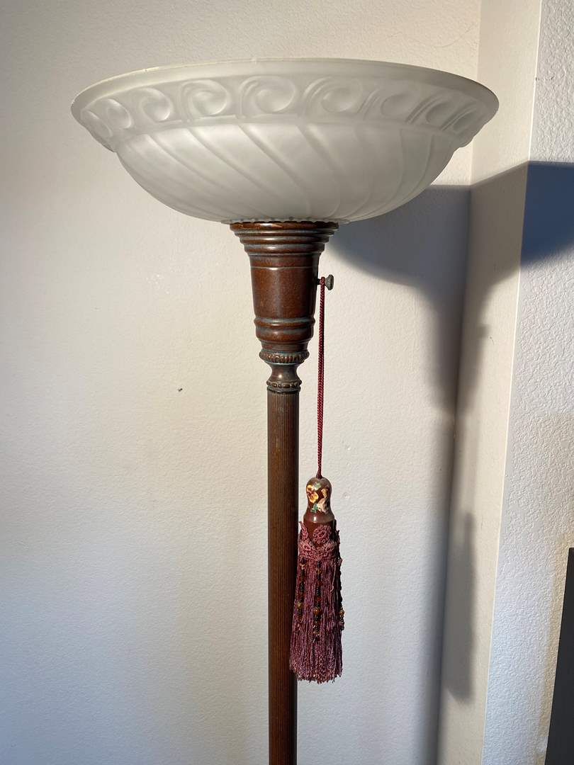 Lot # 719 - Floor Lamp with 3 Position Light Switch (main image)