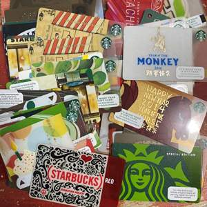 Lot # 436 - Collection of Starbucks Gift Cards 2009-2019