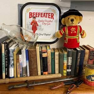 Lot # 442 - Vintage Books, Knives & Decor