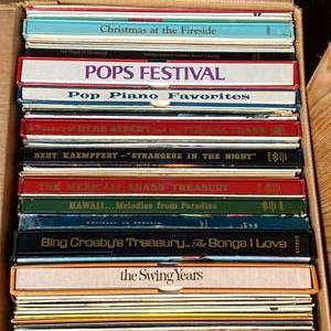 Lot # 600 - Vintage Vinyl