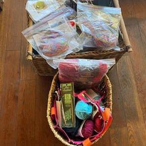 Lot # 664 - Knitting Baskets