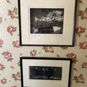 Lot # 681 - Etchings By Rachael Winn Yon, a Central Coast Artist 1935–2019