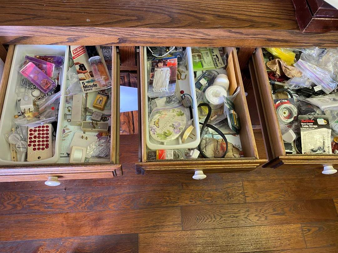 Lot # 709 - 3 Kitchen Junk Drawers (main image)