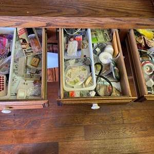 Lot # 709 - 3 Kitchen Junk Drawers
