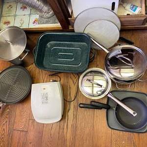 Lot # 713 - Pots, Pans and More