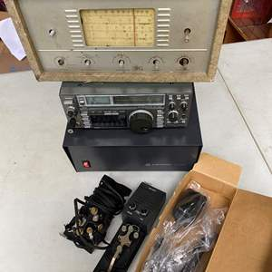 Lot # 731 - Isom IC-735 Shortwave Transceiver, Multi Band Radio, Astron RS-35A DC Power Supply and Accessories