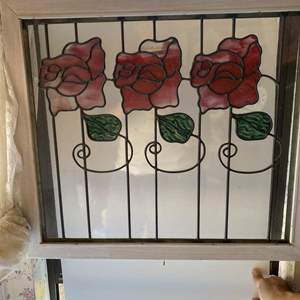Lot # 739 - Stained Glass Window