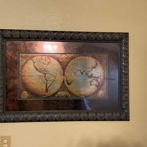 LOT # 4 - Large Home Decor Picture