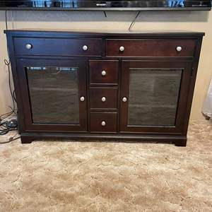 LOT # 13 - Winners Only Entertainment Console Table TV Stand