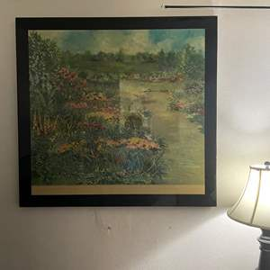 """LOT # 39 - Large 3ft x 4ft picture- """"The Path"""" by Jennifer Winship"""