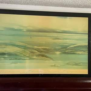LOT # 40 - Large Hanging Picture 3 1/2 X 5 Ft