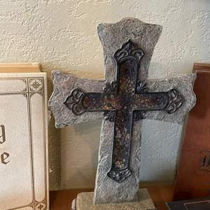 LOT # 45 - Christian Decor and Bible Covers
