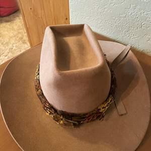 LOT # 50 - Vintage John B. Stetson 3X Beaver Full Brim Hat, Stetson Hat