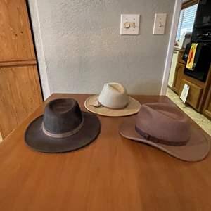 LOT # 51 - Dorfman Pacific Full Brim Hats