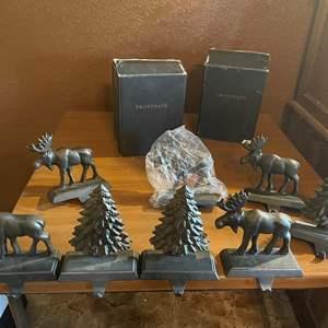 LOT # 98 - Metal Stocking Holders