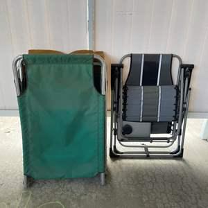 LOT #  117 - Lounge Chairs
