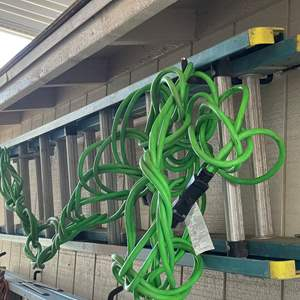 LOT # 144 - Werner Electro Master 16 Foot Ladder 250lb. Weight Capacity Non- Conductive Fiberglass, 100 Foot Extension Cord