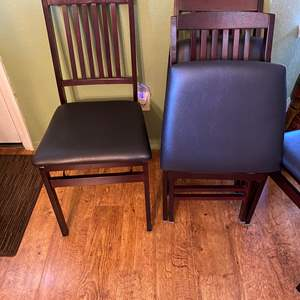 Lot # 2 - Set of Four Folding Chairs