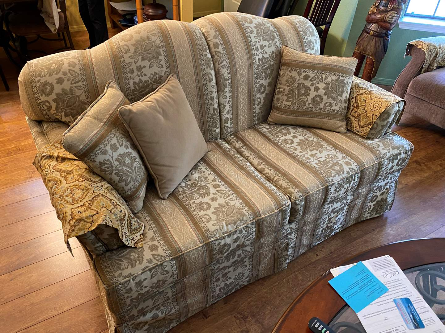 Lot # 5 - Love Seat - Match Couch (main image)