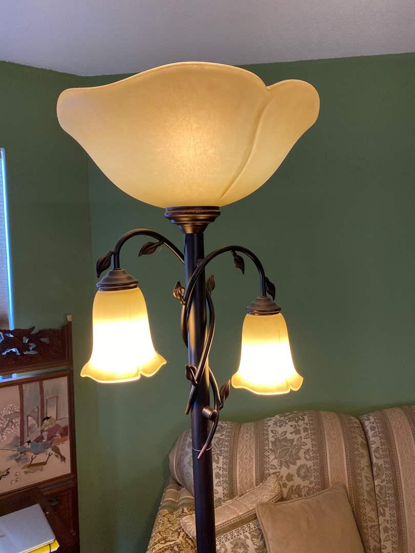 Lot # 8 - Floor Lamp (main image)