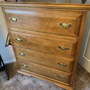 Lot # 18 - Vintage High Boy Dresser