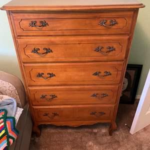 Lot # 21 - Vintage High Boy Dresser