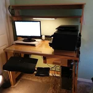 Lot # 22 - Custom Made Desk