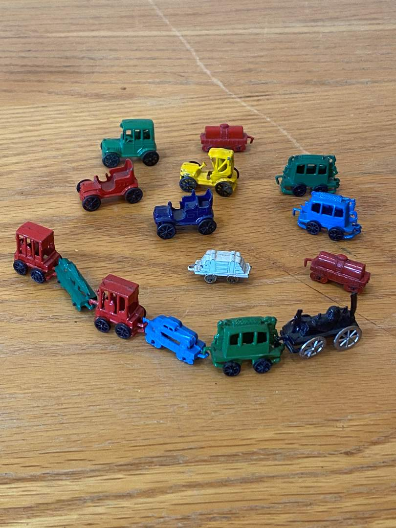 Lot # 23 - Vintage Mini Cast Metal Cars Made in Japan (main image)