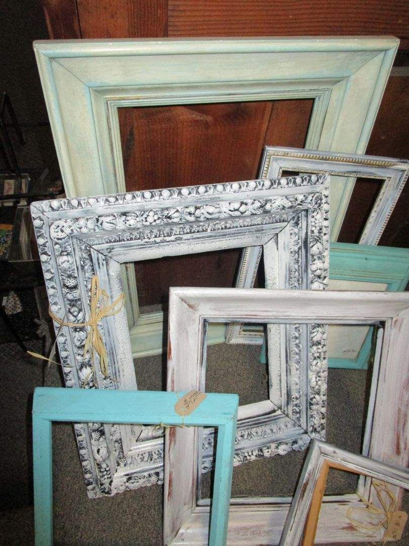 Lot # 9 - Painted Frames (main image)