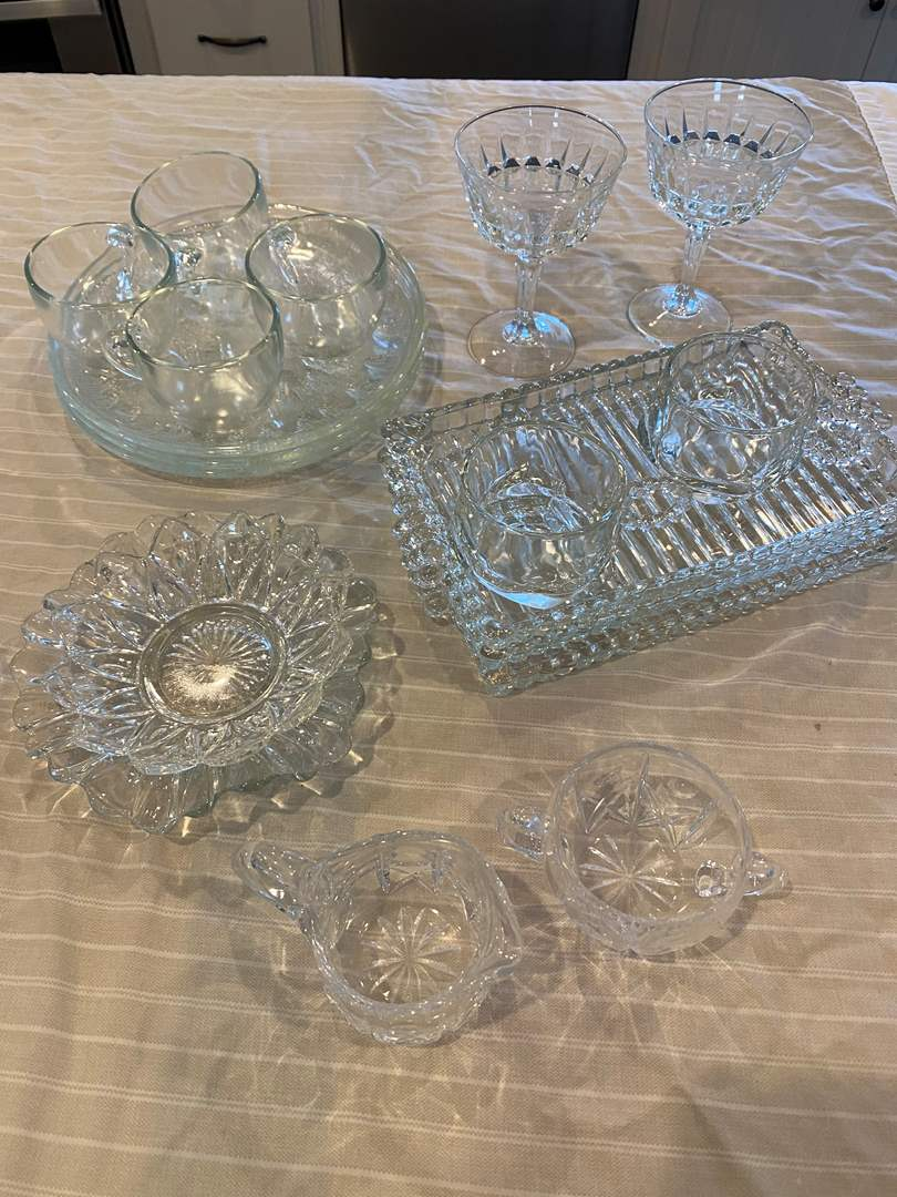 Lot # 10 - Vintage Sandwich Trays & Other Vintage items (main image)