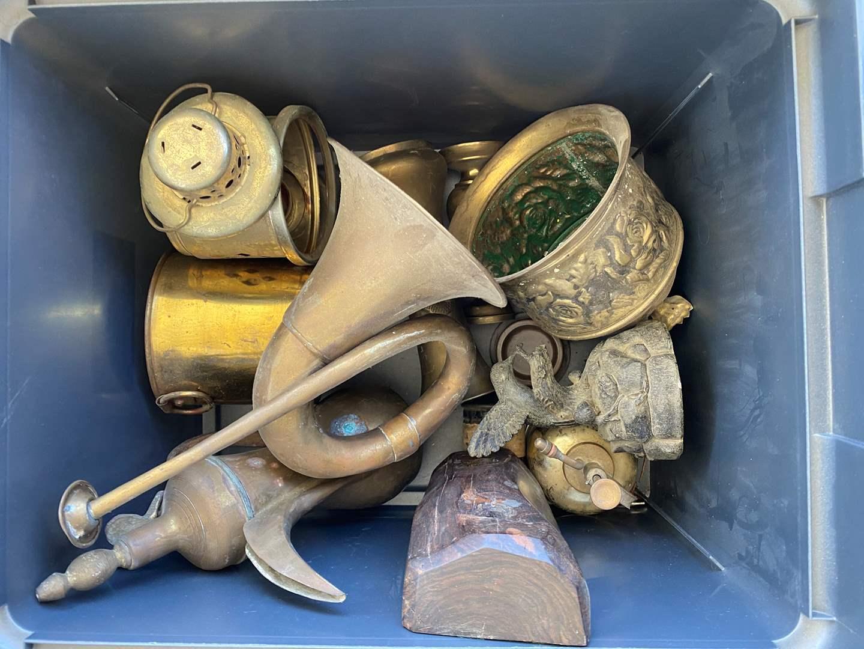 Lot # 26 - Brass Decor Items (main image)
