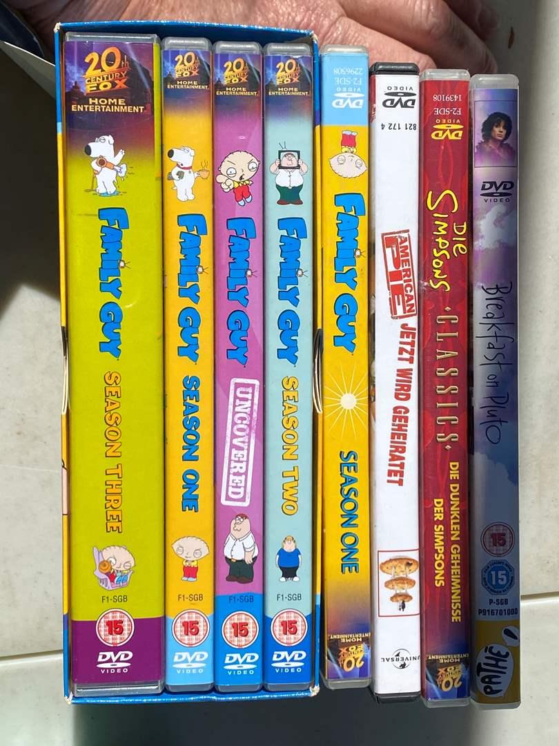 Lot # 31 - Family Guy DVD Set & Movies (main image)