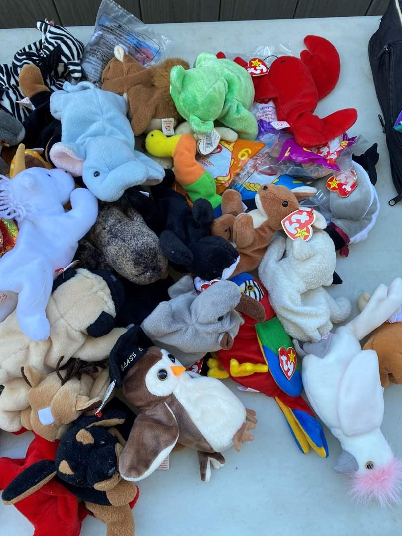 Lot # 63 - Ty Beanie Babies (main image)
