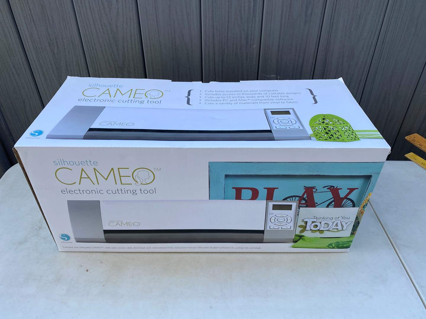 Lot # 68 - Silhouette Cameo Electronic Cutting Tool with Accessories  (main image)