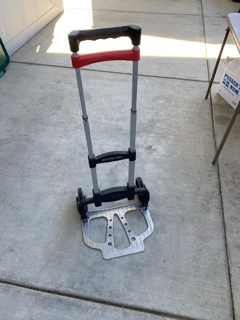 Lot # 74 - Magna Cart Folding, Collapsable Hand Dolly (main image)