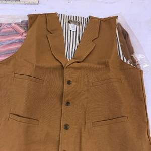 Lot # 149 - Men's classic old west style Pants, vest and shirts