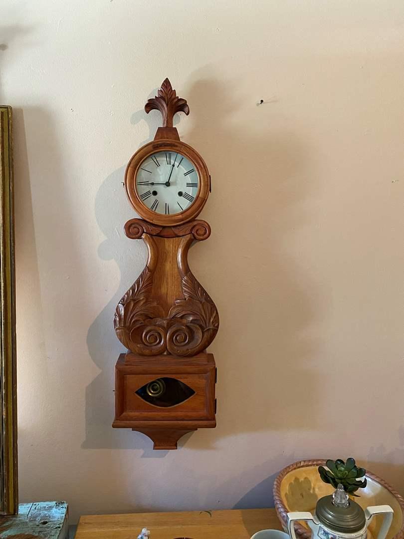 Lot # 7 - Pendulum Wall Clock (main image)