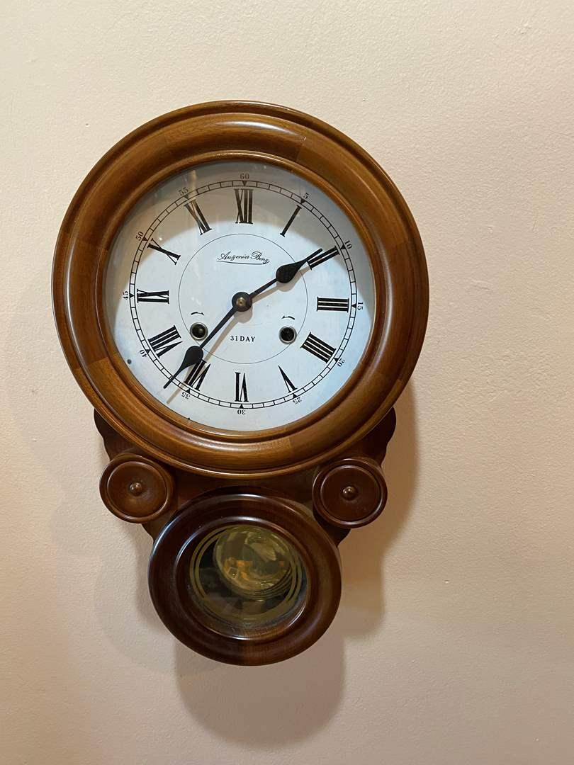 Lot # 8 - Auzenier Benz Wall Clock (main image)