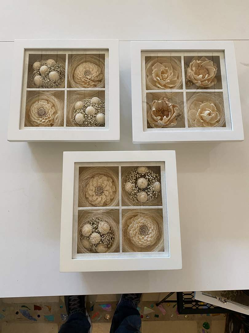 Lot # 24 - Set of Shadow Boxes (main image)
