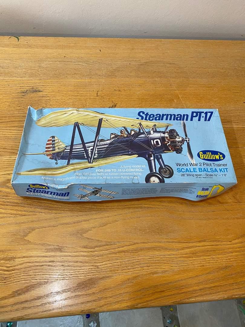 Lot # 168 - PT-17 Model Balsa Kit (main image)