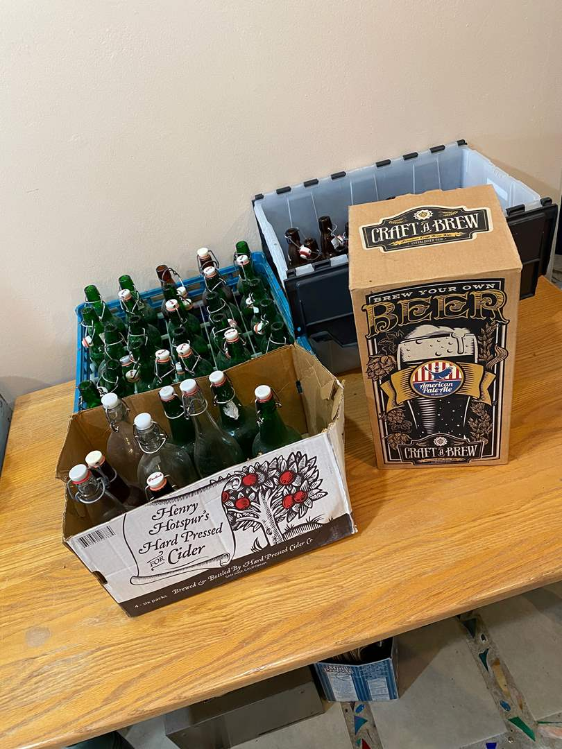 Lot # 177 - Beer Crafting Items - Scouts Pack 214 Fund Raiser (main image)