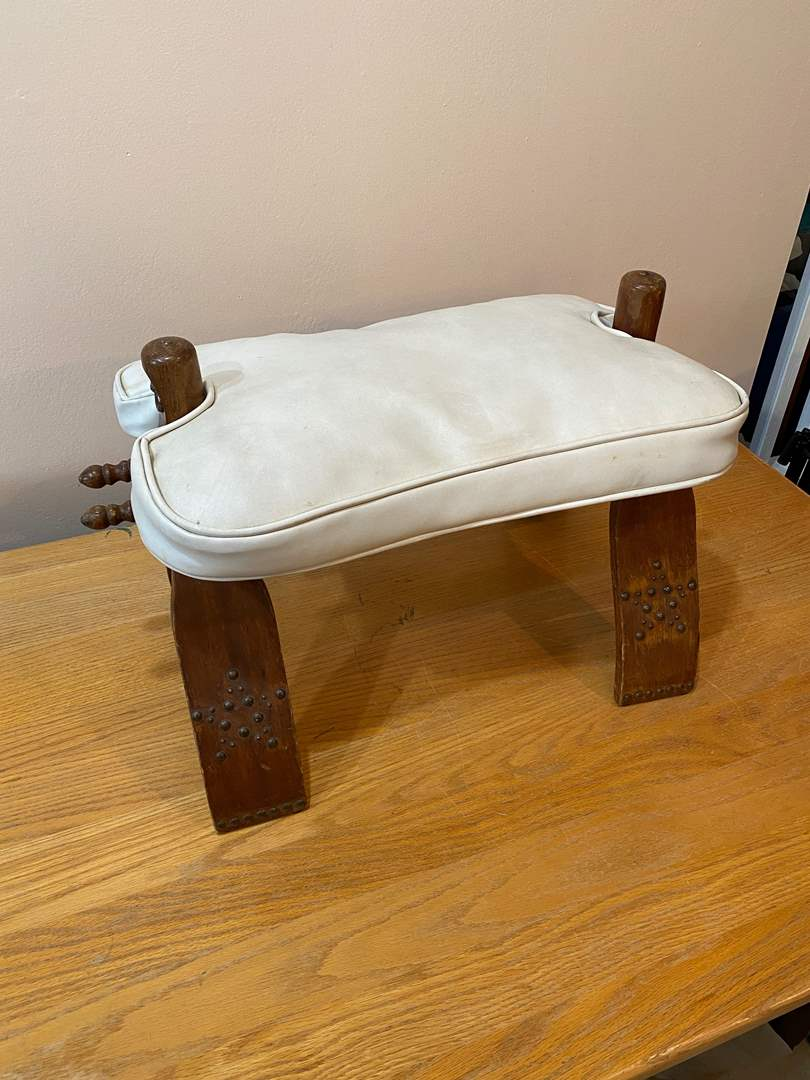 Lot # 185 - Vintage Stool - Scouts Pack 214 Fund Raiser (main image)