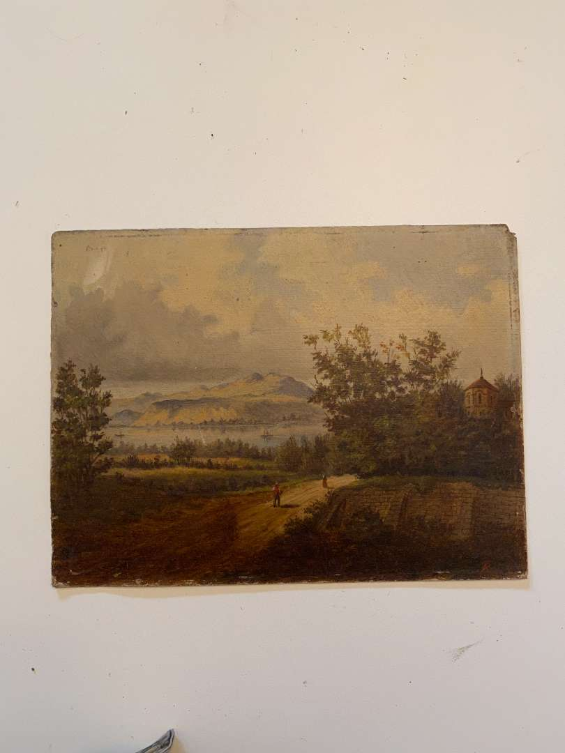 Lot # 42 - Vintage/Antique Original Painting  (main image)