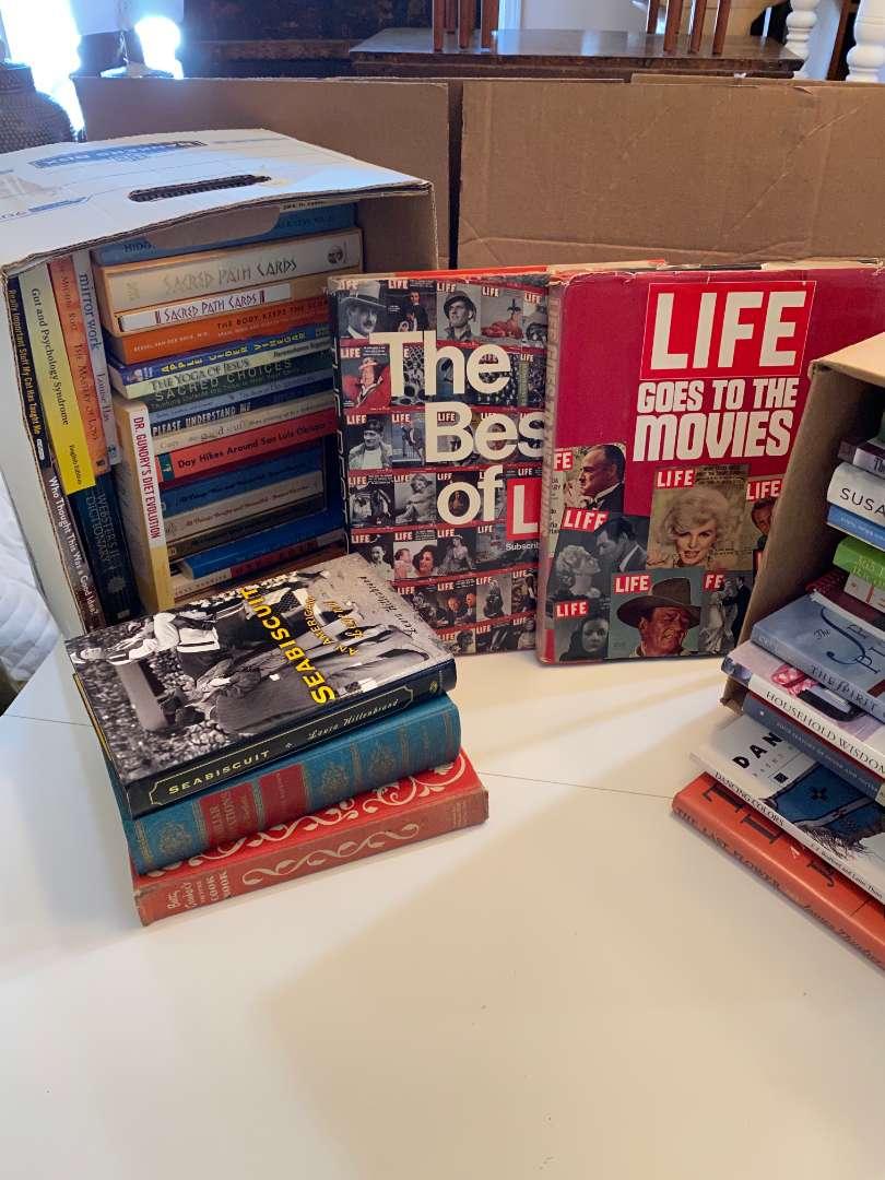 Lot # 118 - Hard Back & Soft Back Books (main image)