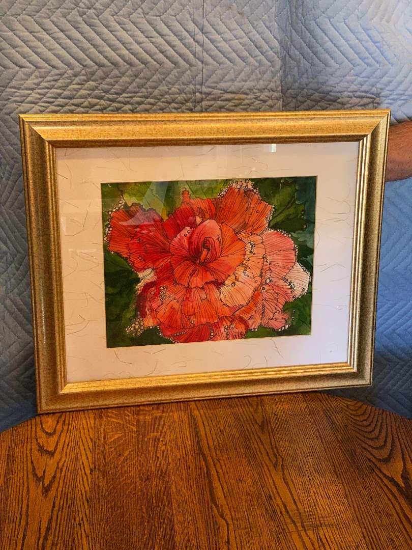 Lot # 127 - Peggy Childers Framed Print (main image)