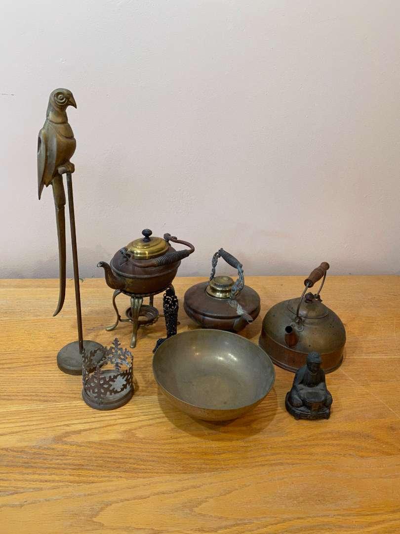 Lot # 138 - Brass Items (main image)