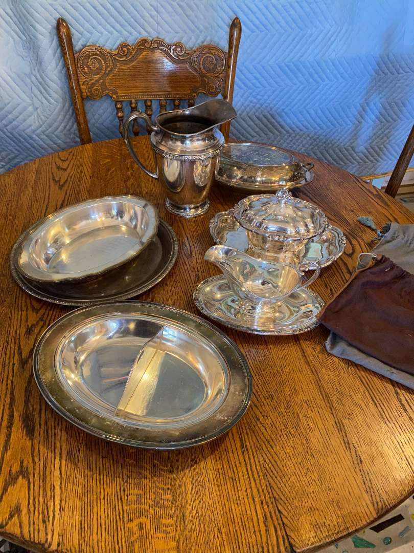 Lot # 139 - Silver-plate Items (main image)