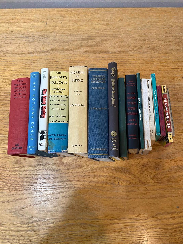 Lot # 167 - Vintage Books (main image)
