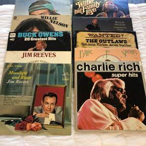 Lot # 132 - Country Records...Vinyl Gold!